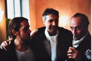 Zu Beginn meiner Tangolaufbahn 1988 im Esdudio Sudamerica in West-Berlin, links im Bild
