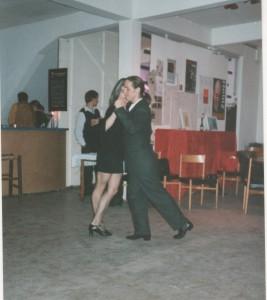 Tango de Salon, Ralf Sartori hier mit seiner früheren Partnerin Mariejo