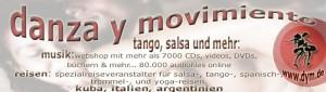 Tango- und Weltmusik-Versand und weitere Angebote