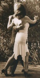 Tango-Unterricht, wo auch immer...