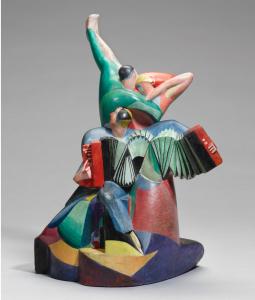 Cecil Howard: Accordeoniste et danseurs (1915-17)
