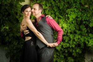 Susanne Opitz und Rafael Busch. Das Bild stammt aus Band 3 der Buchtrilogie über die Berliner Tangoszene innerhalb der Reihe TANGO GLOBAL