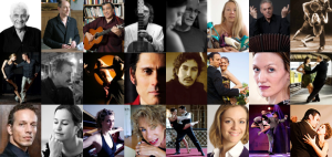 Protagonisten des Tango in Berlin/ Filmbilder