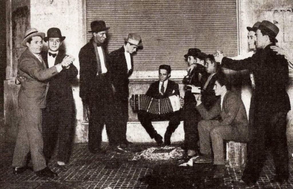 Openair-Tango, los muchachos de antes