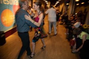 Tati Tango mit Gastgeber Ralf Sartori