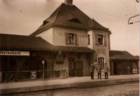 Alter Bahnhof Steinebach