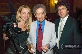 Horacio und sein Sohn César Salgán, mit der Filmemacherin Caroline Neal