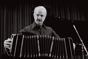 "A documentary with extraordinary and previously unpublished material about the ""world's foremost composer of tango music"" – Astor Piazzolla"
