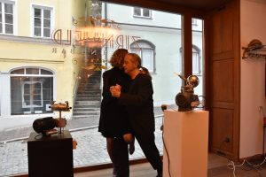 Tango im Café Zirnheld, in der Alten Bergstraße in Landsberg