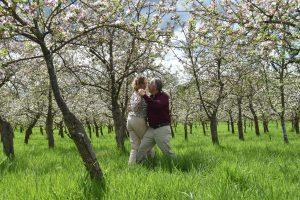 Tango auf der 'Gran Milonga' der Apfelbäume ...